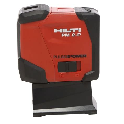 Laser Plumb Level by Hilti Pm 2 P Plumb Laser 2047037 The Home Depot