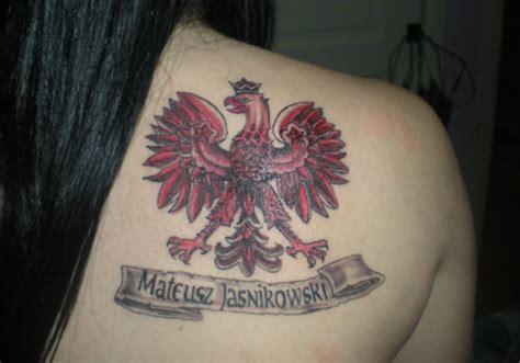 polish eagle tattoo girl polish eagle tattoos designs ideas and meaning tattoos