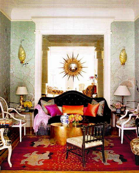 bohemian style interior decorating room decorating ideas