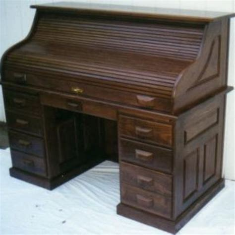 Amish Roll Top Desks by Custom Walnut Roll Top Desk Amish Style County Classic