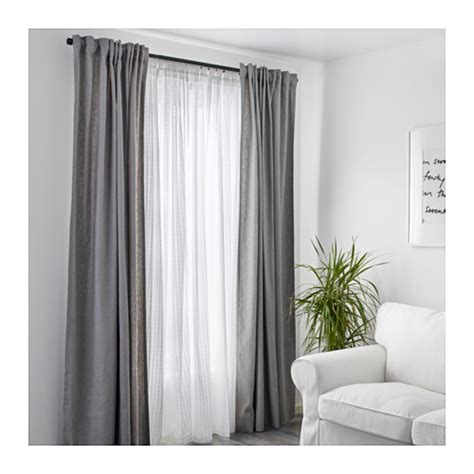 sheer curtains ikea matilda sheer curtains 1 pair white 140x300 cm ikea
