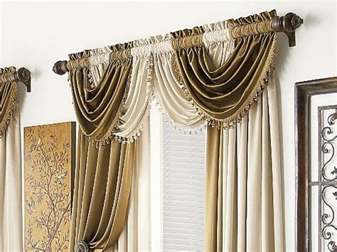 buy valance curtains royal velvet 174 hilton 58wx38 quot l waterfall valance item