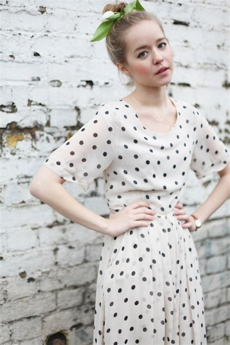 Dress Polka 117 117 best images about 2dayslook polkadot dress on