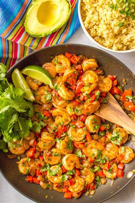 shrimp cookbook for beginners 25 shrimp recipes to prepare everyoneã s favorite seafood books easy mexican shrimp skillet family food on the table