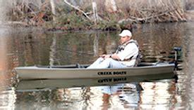 creek boats - Duck Hunting Creek Boat