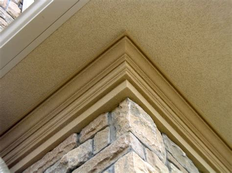Exterior Crown Molding Exterior Crown Moulding On