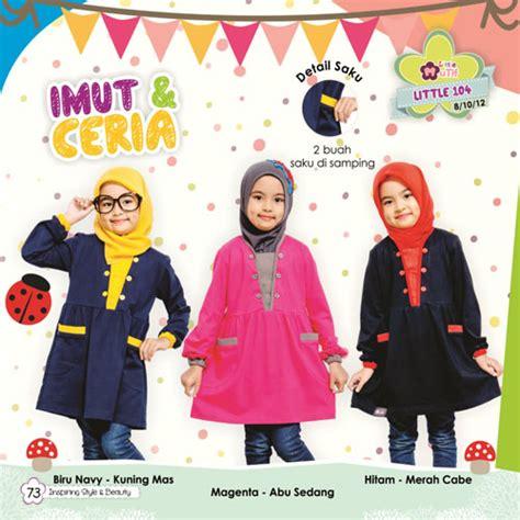 Baju Atasan Anak Mutif Terbaru 123 Size 24 m lm 104 rumah madani busana muslim