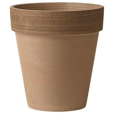 Michael Carr Planters by Deroma 10 2in Moka Clay Scratch Pot No Ups Or