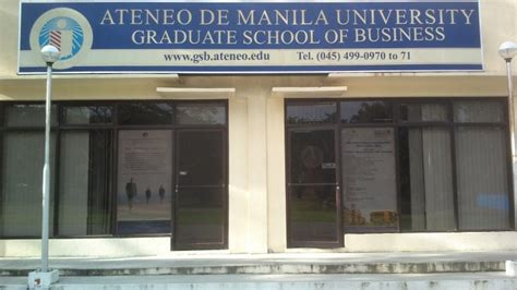 Ateneo Mba Student Log In by Clark Field Panga Ateneo Graduate School Of Business