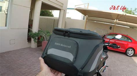 Bmw Motorrad Tail Bag by Bmw S1000xr Tail Bag Youtube