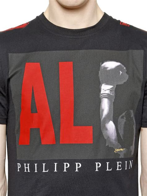 Tshirt Muhammad Ali 3 Roffico Cloth philipp plein muhammad ali printed cotton t shirt in black