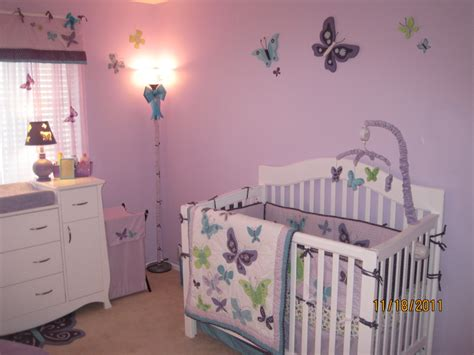 Nojo Beautiful Butterfly 7 Crib Bedding Set by Beautiful Butterflies Nursery Project Nursery