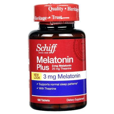 Does Melatonin Detox Brain by Schiff Melatonin Plus 3 Mg 180 Tablets Evitamins Uk