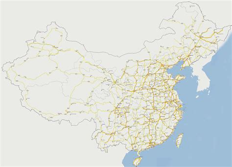 road map of china large detailed road map of china china large detailed