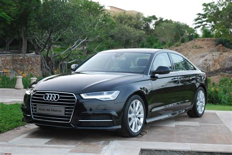 2015 Audi A6 driven 2015 audi a6 matrix team bhp