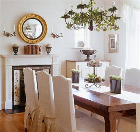 Luxurious Dining Room Decor With Skirted Chairs Home Home Decor Dining Room