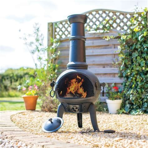 Chiminea B Q by Bbqs Garden Equipment