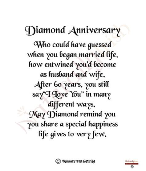 Diamond Anniversary Quotes. QuotesGram