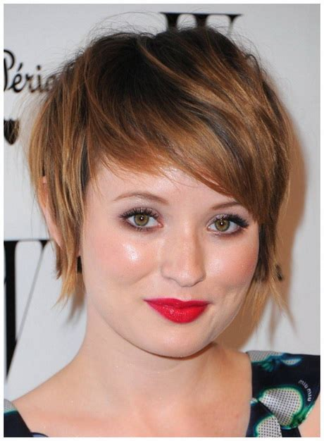 pictures of short fat women short haircuts for chubby women