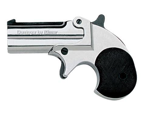 Revolver 22 Cal Blank kimar 22 caliber barrel derringer chrome finish