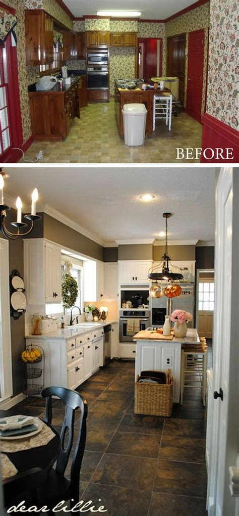 budget friendly kitchen makeovers ideas and instructions before and after 25 budget friendly kitchen makeover