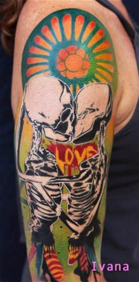 ivana tattoo ivana belakova tattoos paintings onto skin 171