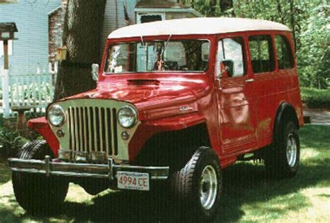 1950 Jeep Willys Wagon 1000 Images About Willys Overland On Station