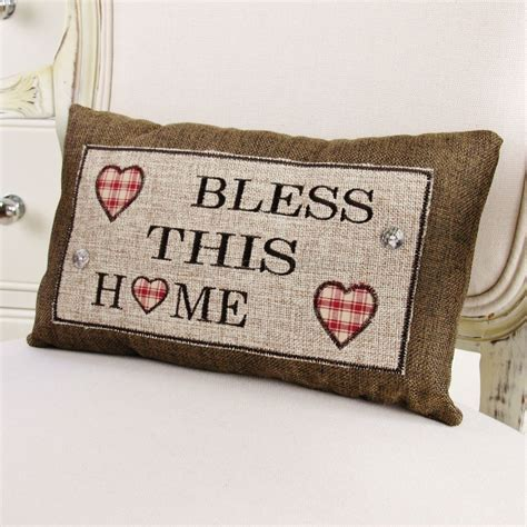 bless this home cushion bliss and bloom ltd