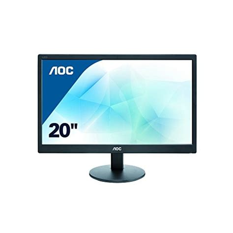 Monitor Led Widescreen aoc 19 5 led widescreen monitor e2070swn