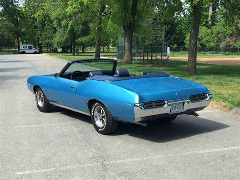 Pontiac Lemans 1969 by 1969 Pontiac Lemans For Sale Classiccars Cc 984968