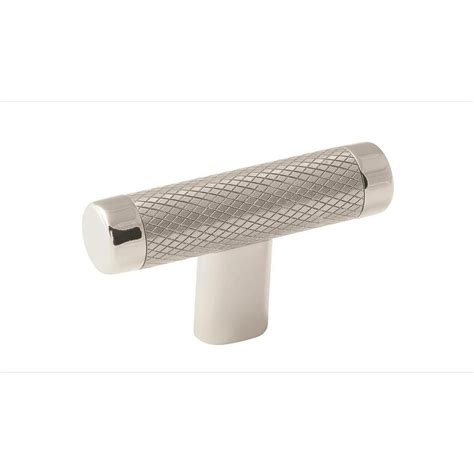 Home Depot Bathrooms Amerock Esquire 2 5 8 In 67 Mm Polished Nickel