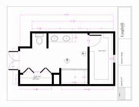 Master Bathroom Floor Plan Dimensions » Home Design 2017