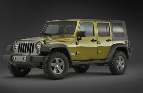 Different Kinds Of Jeep Wranglers Image 2010 Jeep Wrangler Mountain Size 1024 X 667 Type