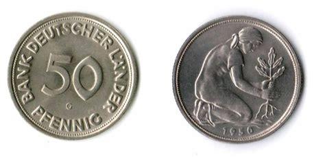 50 pfennig bank deutscher länder 1950 g 50 pfennig 1950 g deutschland 50 pfennig bank deutscher