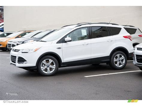 ford escape 2016 interior 2016 oxford white ford escape se 4wd 109689279 gtcarlot