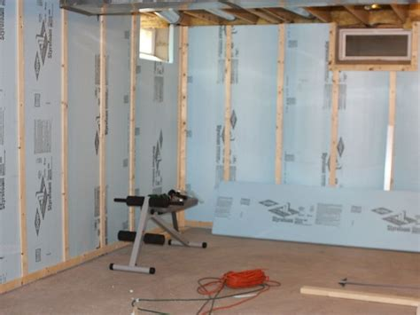 17 best ideas about insulating basement walls on