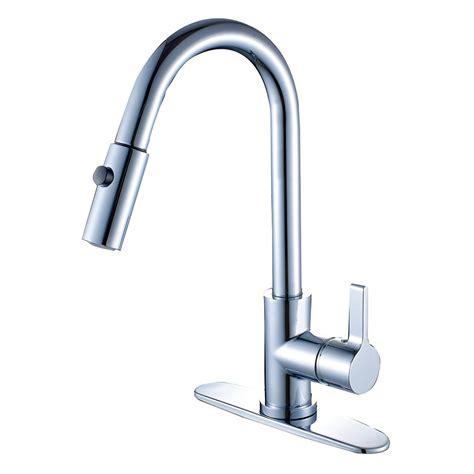 kingston brass modern single handle pull down sprayer kingston brass single handle pull down sprayer kitchen