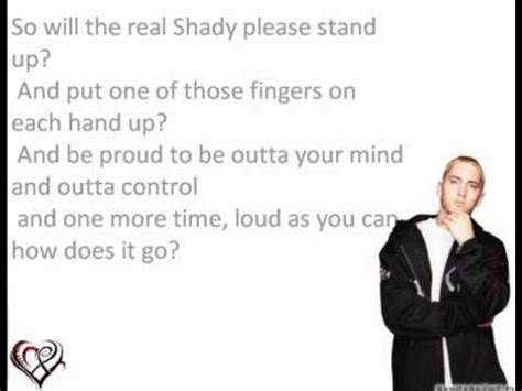 eminem the real slim shady lyrics the real slim shady eminem lyrics youtube
