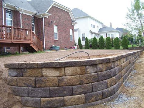 pavestone colors retaining wall pavestone block carolina blend color