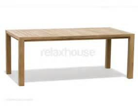 Outdoor Teak Dining Table Teak Outdoor Dining Table