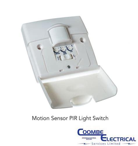 Motion Sensor Light Switch by Motion Sensor Pir Light Switch Coombe Electrical