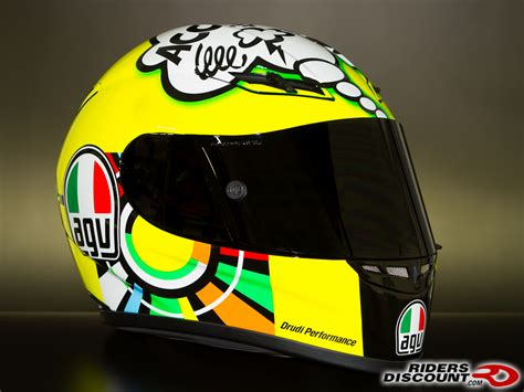 agv gp tech valentino rossi misano wtf limited edition helmet ducatims  ultimate
