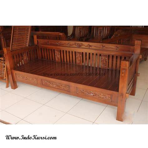 Jual Sofa Kayu Jati Jakarta kursi bangku bale bale minimalis kayu jati indo kursi mebel indo kursi mebel