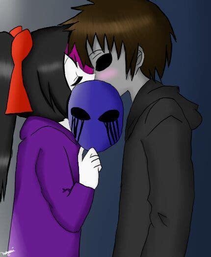 imagenes de eyeless jack x nina the killer creepypasta couples love commenti a go go nina x jack