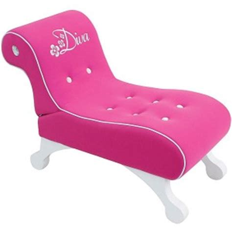 Diva Chaise Lounger Girls Lounge Chair Pink New Ebay