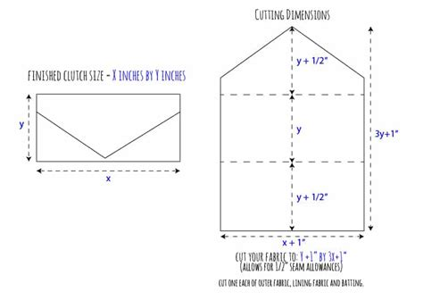 printable envelope clutch pattern diy vintage wedding dress envelope clutch tutorial