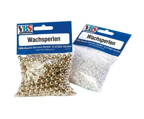 1000 images about vbs the vbs gro 223 handelspackung vbs wachsperlen 216 4mm 1000 st 252 ck
