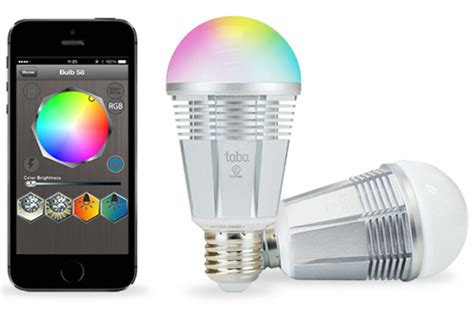 Philips Led Color Changing Light Bulbs Lumen Bluetooth 4 0 Led Bulb Takes On Philips Hue Slashgear