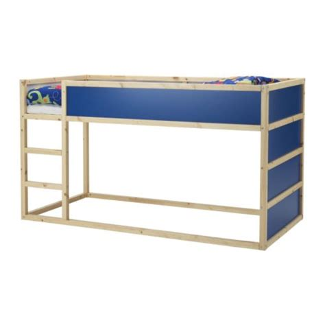ikea low loft bed real rooms ikea kura bed