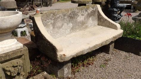 sandstone garden bench sandstone garden bench holloways garden antiques and